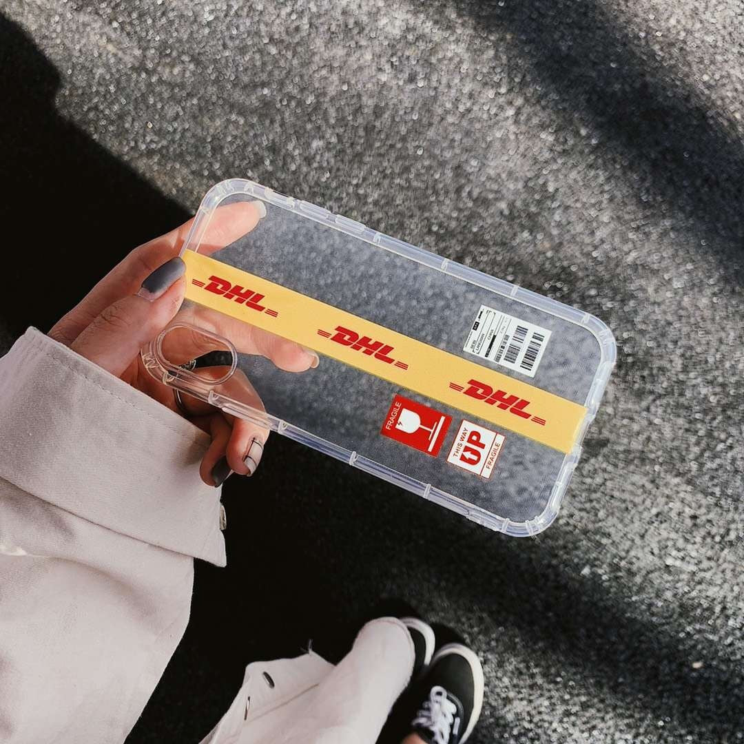 DHL Transparent iPhone Case