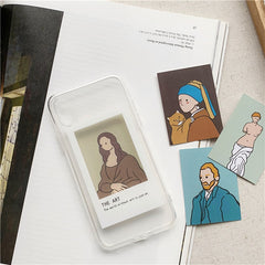 The Art Cards iPhone Case