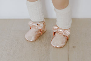 BOW | ROSE GOLD Size 2