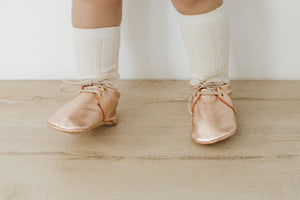 MODERN SADDLE | ROSE GOLD Size 4
