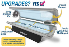 SunLite with Wolff Tanning Bed Bulbs