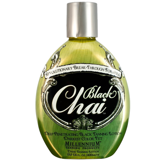 Black Chai Tanning Lotion by Millennium Tanning