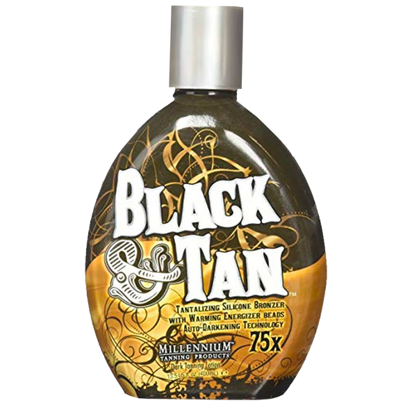 Black & Tan Tanning Lotion by Millennium Tanning