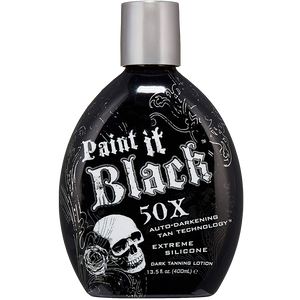 Paint It Black Tanning Lotion by Millennium Tanning