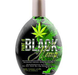 Paint It Black Hemp Tanning Lotion by Millennium Tanning