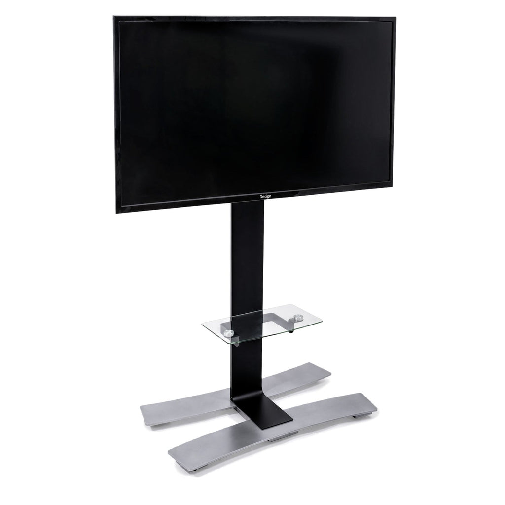 Erard Will 1400 360 186 Mobile Stand With Shelf For Tvs Up To