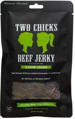 Two Chicks Beef Jerky - Carne Asada, 2oz (12 bags!)