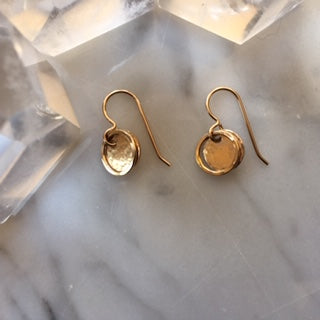 The Golden Ones- Disc Earrings