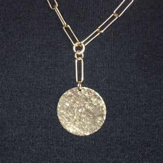 Mix of Gold Disc Necklace