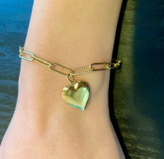 Happy Heart Locket Bracelet