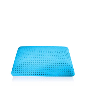 Surface infused gel pillow