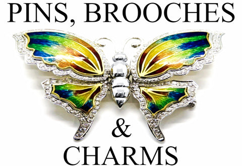 Pins, Brooches & Charms | Golden Anvil Jewelers