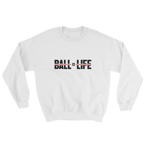 BALL is LIFE Smooth Red Crewneck