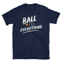 Ball Over Everything - White Short Sleeve