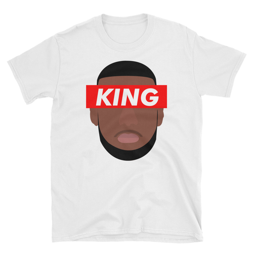 Lebron James KING - Short Sleeve Tee