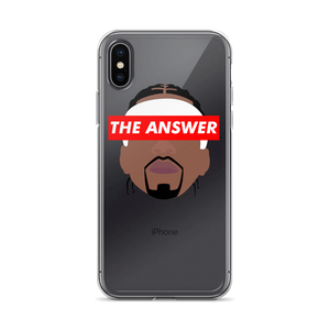 Allen Iverson ANSWER iPhone Case