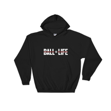 BALL is LIFE Smooth Red Hoodie
