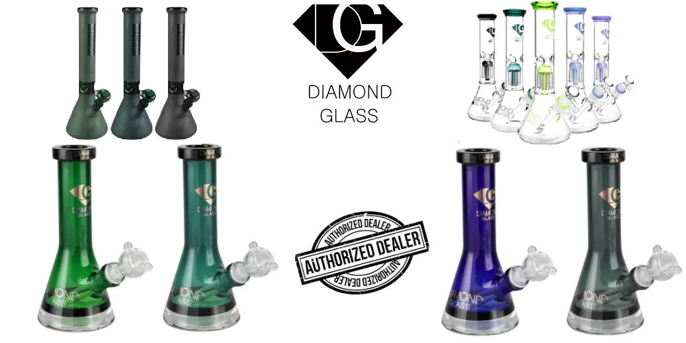 Diamond Glass water pipes hand pipes bubblers