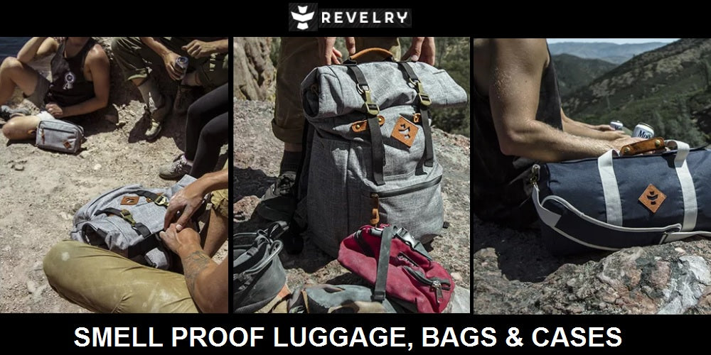 Revelry supply bags and cases