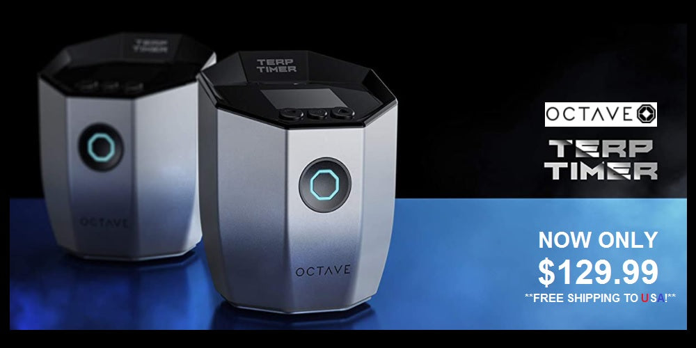 Octave Terp Timer now only 129.99 Millenium Smoke Shop