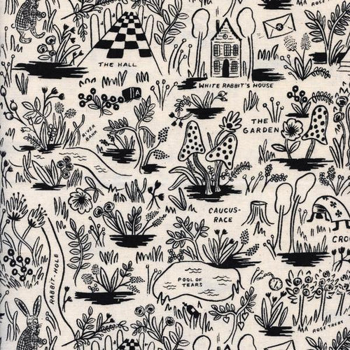 Pre-Order: Boppy Cover - Rifle Paper Co. Wonderland - Magic Forest in Natural