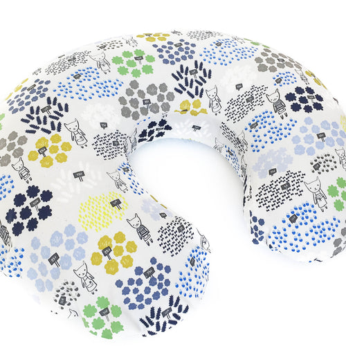 Boppy Cover - Flower Shop - Flowers For Sale in Blue