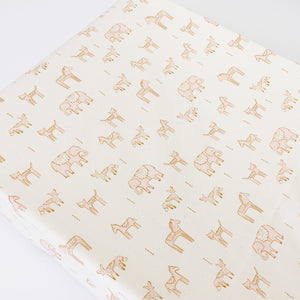 Changing Pad Cover - Flower Shop - Dala Friends in Pink