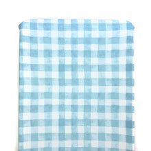 Changing Pad Cover - Sommer - Painted Gingham in Blue