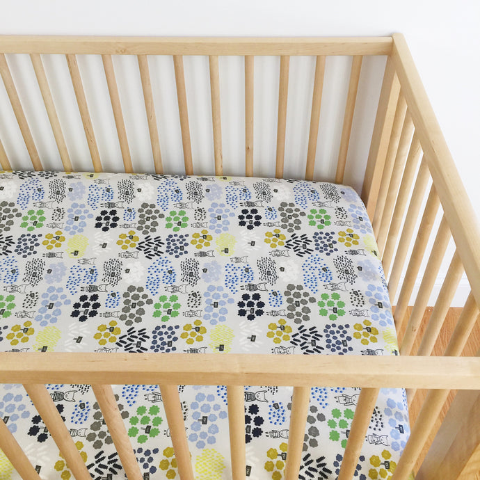 Crib Sheet - Flower Shop - Flowers for Sale in Blue