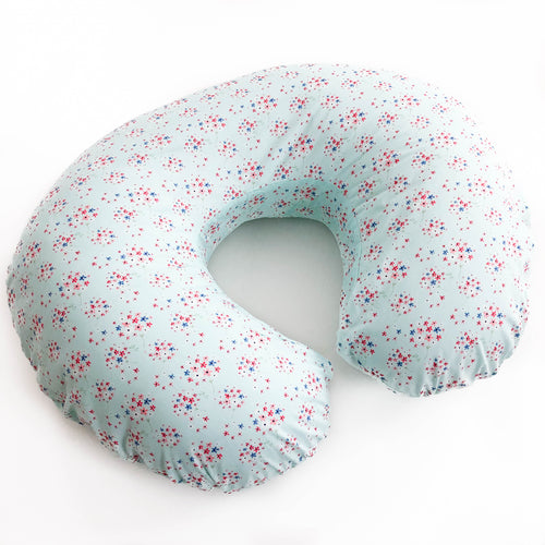 Boppy Cover - Paperie in Blue
