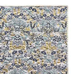 Canvas Wholecloth Quilt - Rifle Paper Co. Menagerie - Tapestry in Natural