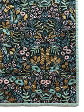 Canvas Wholecloth Quilt - Rifle Paper Co. Menagerie - Tapestry in Mint