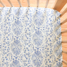 Crib Sheet - Sommer - Sundborn in Blue