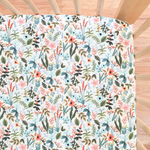 Crib Sheet - Rifle Paper Co. - Herb Garden in Multi