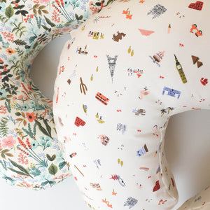 Boppy Cover - Rifle Paper Co. - Herb Garden in Multi