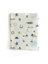 Changing Pad Cover - Kujira - Sightseeing in Natural