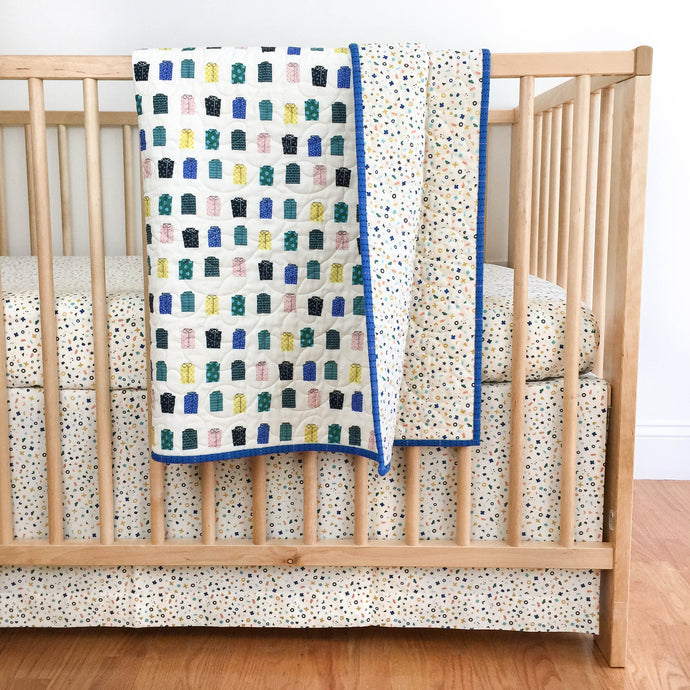 Wholecloth Quilt - Kujira in White