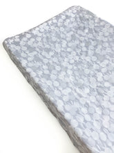 Changing Pad Cover - Sleep Tight - BunBuns in Grey Pearlescent