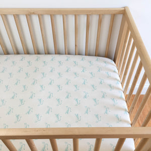 Crib Sheet - Sleep Tight - Big Roar in Natural