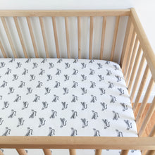 Crib Sheet - Sleep Tight - Big Roar in White