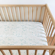 Crib Sheet - Sleep Tight - Maps in Natural