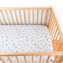 Crib Sheet - Sleep Tight - TInies in Grey