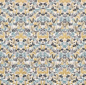 Pre-Order: Changing Pad Cover - Rifle Paper Co. Menagerie - Tapestry in Natural