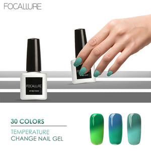 FOCALLURE New Gel Nail Polish 30 Changing Colors UV Gel Polish 7ML Nail Gel for Nail soak off Gel Polish