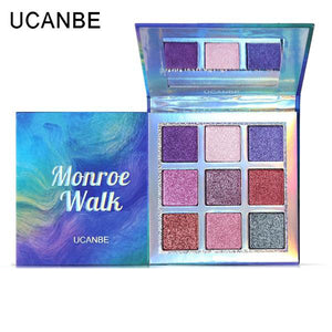 Monroe Walk Holographic Shimmer Eye Shadow Palette
