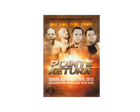 Point Of No Return DVD