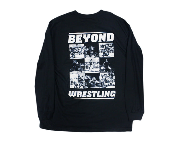 Beyond Wrestling Collage #2 Longsleeve Shirt