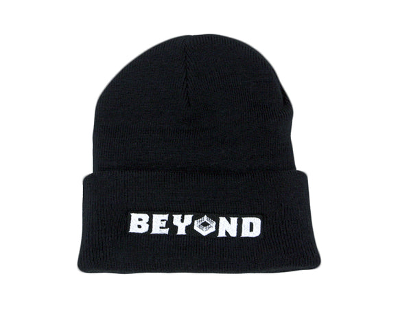 Beyond Wrestling Rectangle Logo Beanie