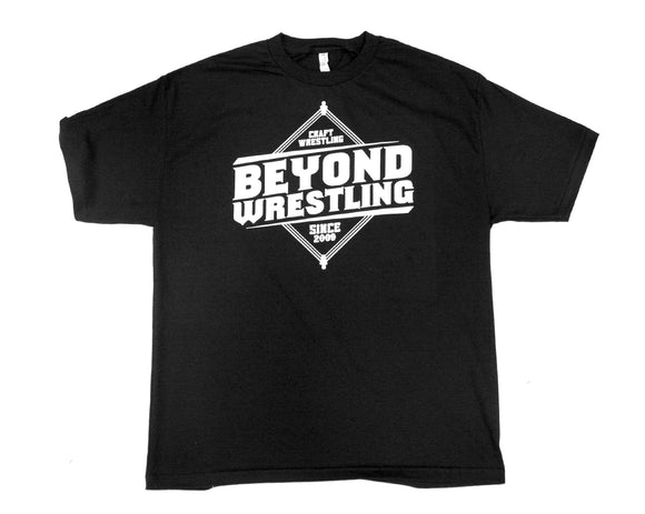 Beyond Wrestling Logo Black T-Shirt