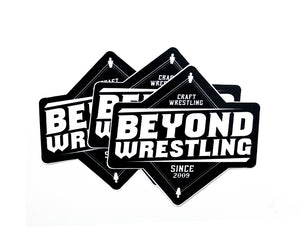 Beyond Wrestling Die-Cut Stickers 3-Pack